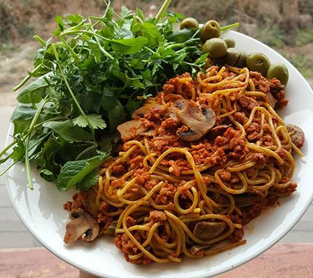 ماکارونی اسپاگتی فیبردار درجه یک