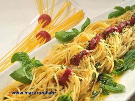 فروش عمده ماکارونی اسپاگتی ژیک