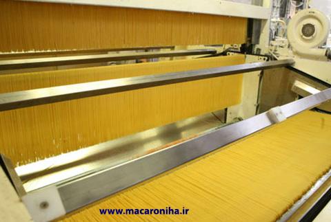 تولید ماکارونی رشته ای اسپاگتی