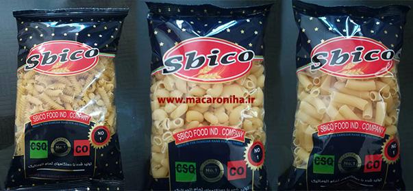 فروش انواع ماکارونی فرمی اسبیکو