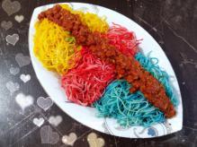 قیمت ماکارونی عمده رنگی در بازار